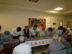 長巻き寿司挑戦中