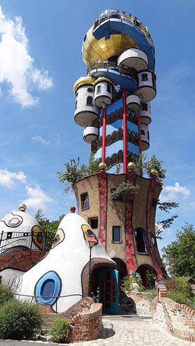 La tour de la brasserie Kuchlbauer.