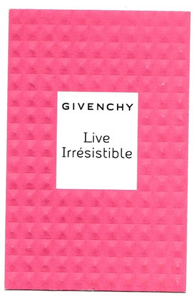 GIVENCHY - LIVE IRRESISTIBLE : DISPONIBILITE A VERIFIER ....