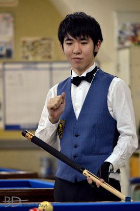全日本バンド選手権初V、森雄介(JPBF。20歳のルーキープロ!)