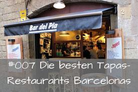 Die besten Tapas Restaurants von Barcelona