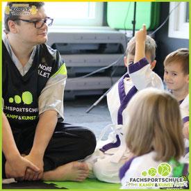 Fachsportschule Info zu - Kampfsport Arten Karate - KinderKarate - uvm.