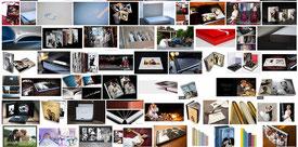 Livres photos pour les mariés et leurs familles