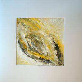 Im Wirbel der Zeit | 2016 | 70 x 70