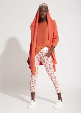 Orange, junge Mode, trendig, Fashionista