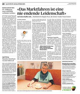 Solothurner Zeitung, 21.08.2014