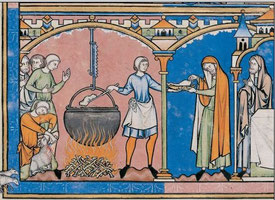 Maciejowski-Bibel: Folio 20r