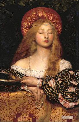 "Frank Cadogan Cowper ""Eitelkeit"", 1907 57,1 x 38,1 cm, Öl/Leinwand Royal Academy of Arts, London © Royal Academy of Arts, London 
