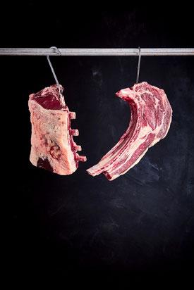 Dry Aged Beef am Hacken