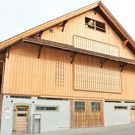Strebel Holzbau Holzfassade