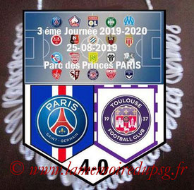 Fanion  PSG-Toulouse  2019-20