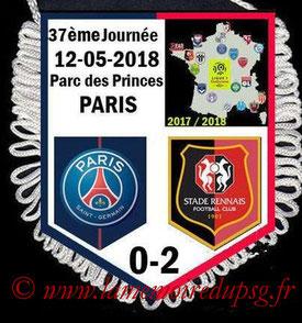 Fanion  PSG-Rennes  2017-18