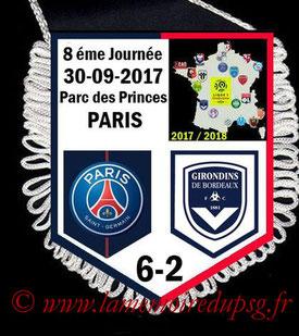 Fanion  PSG-Bordeaux  2017-18
