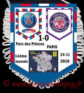 Fanion  PSG-Toulouse  2018-19