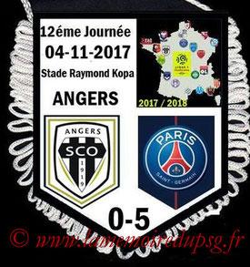 Fanion  Angers-PSG  2017-18