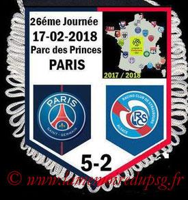 Fanion  PSG-Strasbourg  2017-18