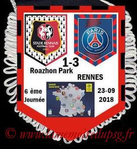 Fanion  Rennes-PSG  2018-19