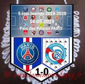 Fanion  PSG-Strasbourg  2019-20