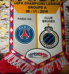 Fanion  PSG-Club Bruges  2019-20