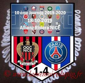 Fanion  Nice-PSG  2019-20