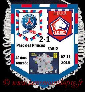 Fanion  PSG-Caen  2018-19