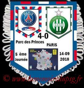 Fanion  PSG-Saint Etienne  2018-19