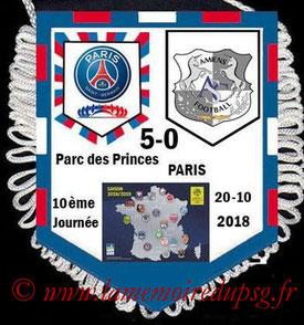 Fanion  PSG-Amiens  2018-19