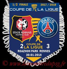 Fanion  Rennes-PSG  2017-18
