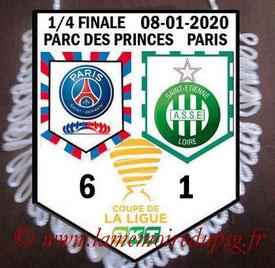 Fanion  PSG-Saint Etienne  2019-20