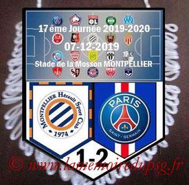 Fanion  Montpellier-PSG  2019-20