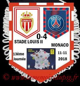 Fanion  Monaco-PSG  2018-19