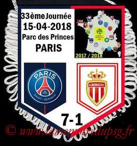 Fanion  PSG-Monaco  2017-18