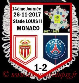 Fanion  Monaco-PSG  2017-18