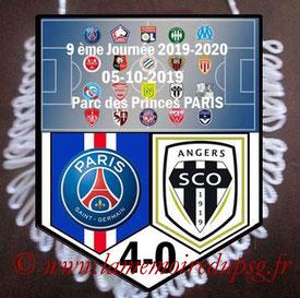 Fanion  PSG-Angers  2019-20