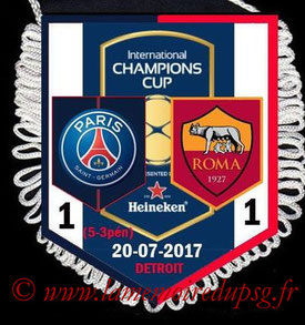 Fanion  PSG-AS Roma  2017-18