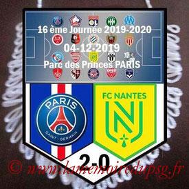 Fanion  PSG-Nantes  2019-20