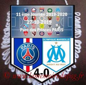 Fanion  PSG-Marseille  2019-20