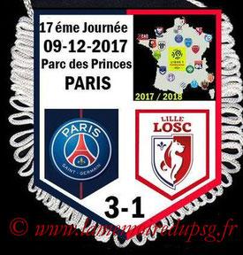 Fanion  PSG-Lille  2017-18