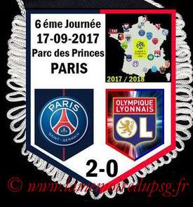 Fanion  PSG-Lyon  2017-18