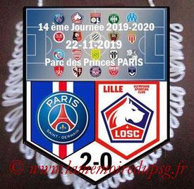Fanion  PSG-Lille  2019-20