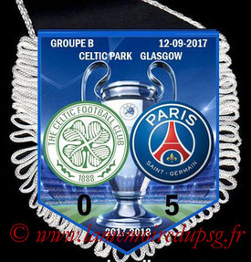 Fanion  Celtic-PSG  2017-18