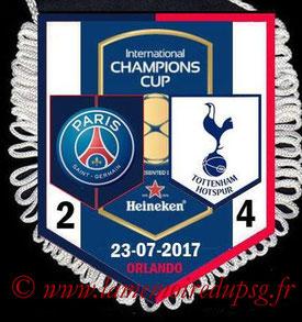 Fanion  PSG-Tottenham  2017-18