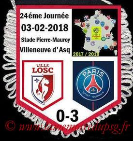Fanion  Lille-PSG  2017-18