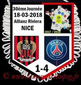 Fanion  Nice-PSG  2017-18