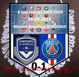 Fanion  Bordeaux-PSG  2019-20