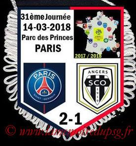 Fanion  PSG-Angers  2017-18