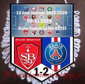 Fanion  Brest-PSG  2019-20