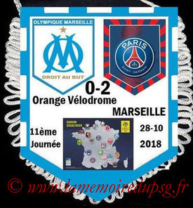 Fanion  Marseille-PSG  2018-19