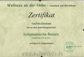 Zertifikat Schamanisch Reisen begleiten und deuten