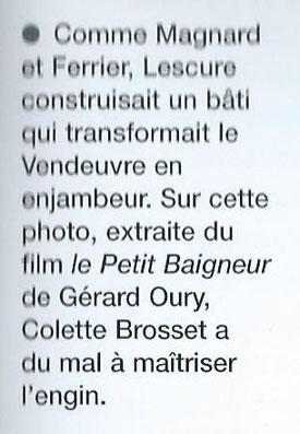 """Texte et photo extraits du livre """"Encyclopédie des tracteurs frabriqués en France des origines à nos jours"""" par Christian Descombes"""